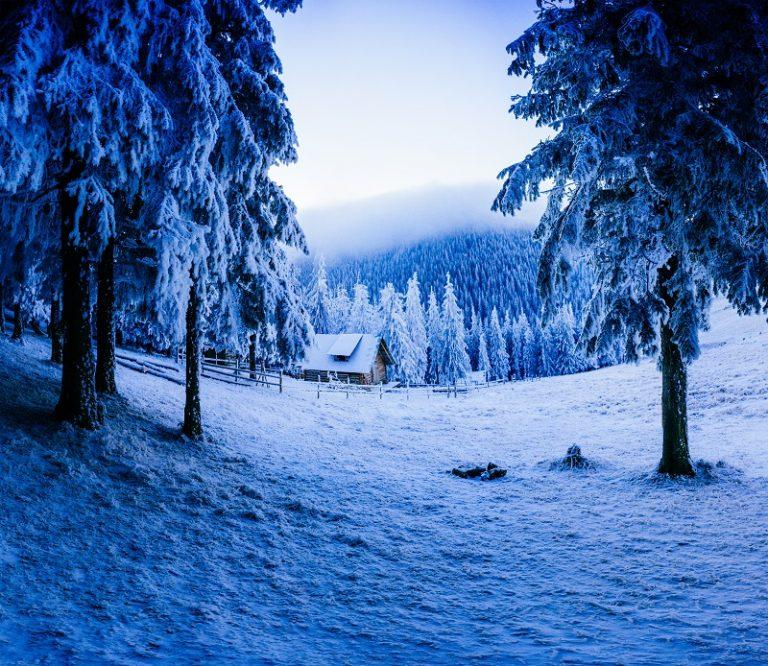 Czy z domku można korzystać w zimie?